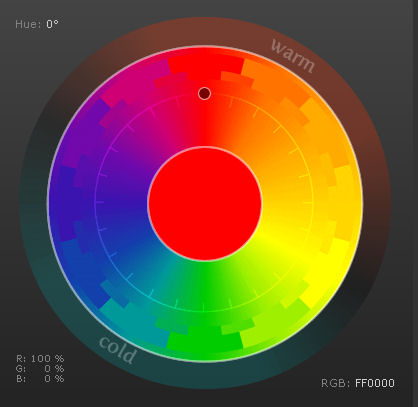 Image from Color Scheme Designer