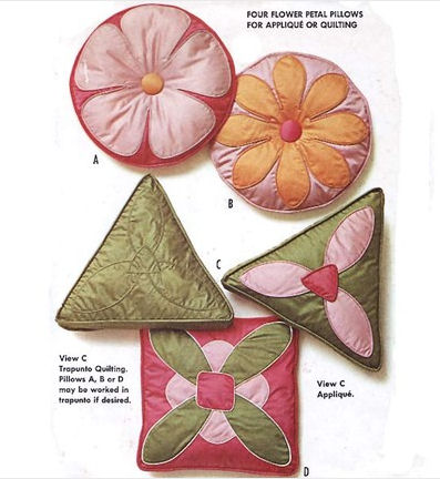 vintage pattern pillows Sewing Patterns For Pillows