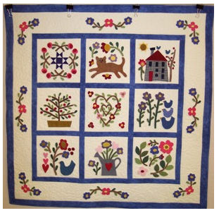 Baltimore Garden Quilts