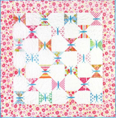 Butterfly Quilts + Free Butterfly Quilt Patterns