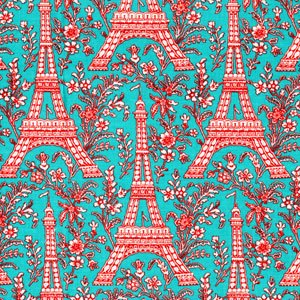 Eiffel Tower Quilt Pattern http://quilting.craftgossip.com/fabric-swatch-eiffel-tower/2009/06/08/