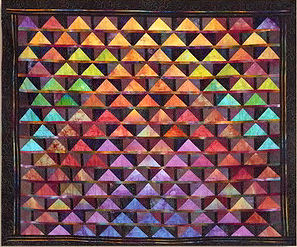 Ricky Tims' Flying Geese quilt