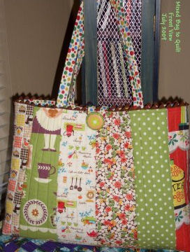 Free Rag Bag Tote Bag Pattern Tutorial - DIY Bag Patterns