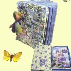 Quilted soft book
