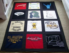 Rag Rug Crocheted Using Knit T-Shirts - crazy mom quilts