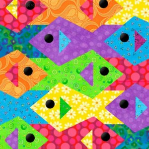 Fish by Sindy Rodenmayer | Quilt Block Patterns | MyEQBoutique.com