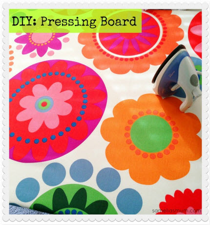 DIY Pressing Board
