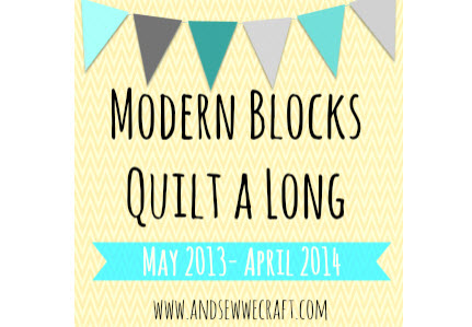 Modern Blocks Quilt Along