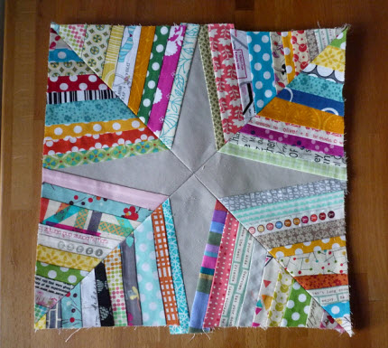 spider web quilt block