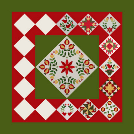 How to Quilt - Swamp Angel Quilt-Quarter Square Triangles